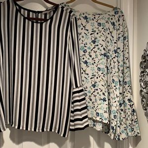 Two-for-One ANN TAYLOR LOFT Blouses - Size Large
